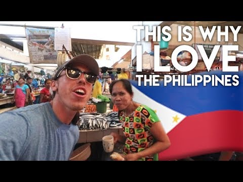 SINGING IN DUMAGUETE FISH MARKETS - Philippines Travel Vlog Ep 12