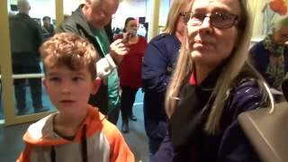 Child healed from amblyopia lazy eye blurred vision & no more glasses - John Mellor Healing Miracles