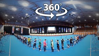 360-degree video at the 2020 Nimes Archery Tournament