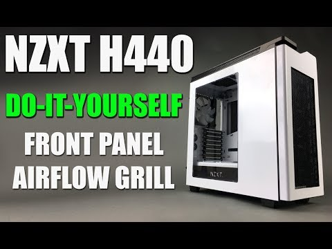#NZXT H440 FRONT PANEL BEZEL AIR FLOW GRILL MOD