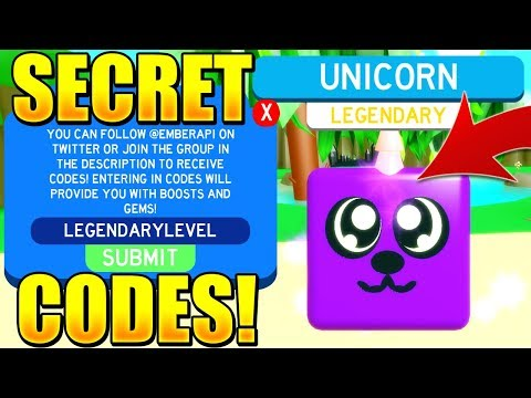 Secret Legendary Pet Codes In Slaying Simulator Roblox Youtube