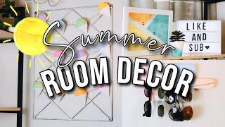 DIY SUMMER ROOM DECOR + ORGANIZATION 2019 | Easy and Cheap