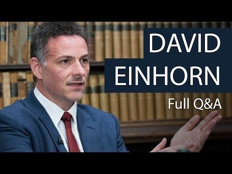 David Einhorn | Full Q&A | Oxford Union