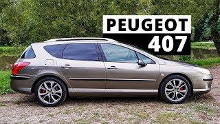 Peugeot 407 SW - gdzie jest haczyk?