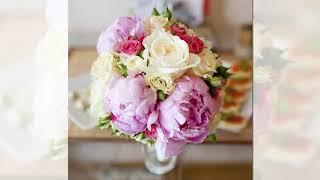 Нежный Букет из Пионов, Самые Красивые свадебные Букеты из Пионов
