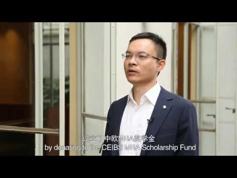 Venture capitalist bats for CEIBS