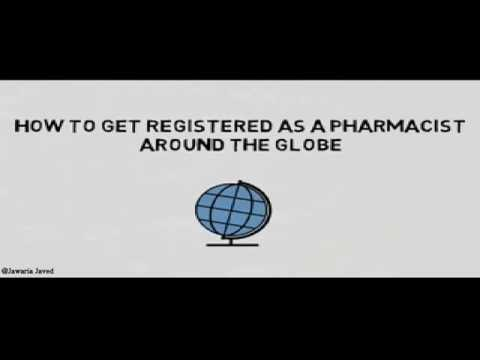 how to register as an overseas pharmacist around the globe.