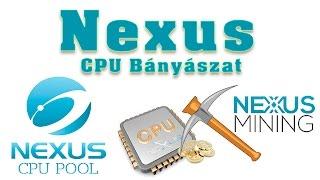 NEXUS CPU Bányászat + Wallet - ZEC mellett