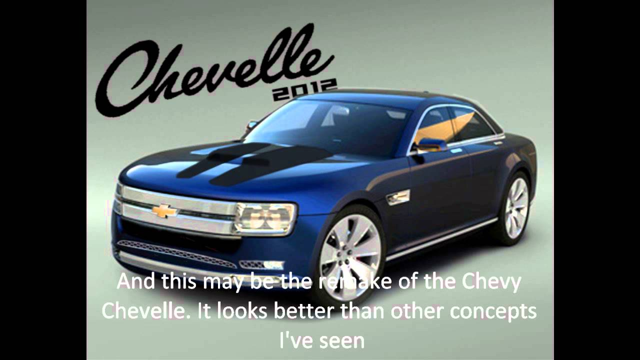 2012 Chevy Monte Carlo and Chevelle concepts  YouTube