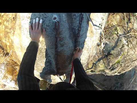 Birthday Buttress, 10b. Jackson Falls Southern Illinois Sport Climbing
