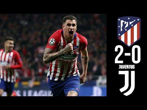 Atletico Madrid 2-0 Juventus - Highlights & Goals • Uefa Champions League | 20.02.2019