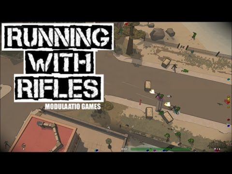 Running With Rifles Gameplay Introduction! (Top-down Battlefield Tactics!)