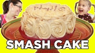 How To Make A Smash Cake!