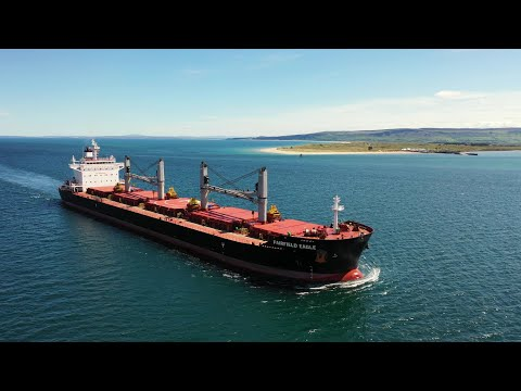 BULK CARRIERS of LOUGH FOYLE  -  DJI MAVIC 2 PRO #Ship Chase Compilation