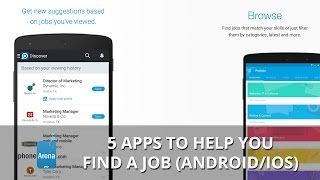 5 apps to help you find a job (Android and iOS)