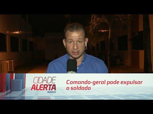 Comando-geral pode expulsar o soldado Josevildo Valentim dos Santos Júnior