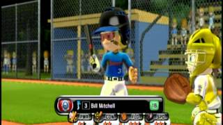 Little League® World Series Baseball 2009 (Nintendo Wii) - Tounament Mode - Game 2 - Part 1