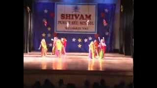 Holiya Mein Ude Re Gulal,Ila Arun Dance Performance by class 7 Students