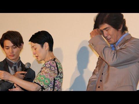 佐藤浩市、サプライズの妻からの手紙に感涙 代読した樋口可南子も感涙! 映画「愛を積むひと」初日舞台あいさつ #Koichi Sato #The Pearls of the Stone Man