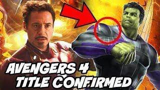 Avengers 4 Title Confirmed by Mark Rufflo after Avengers Infinity War