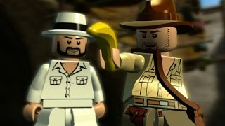 LEGO Indiana Jones 2 100% Walkthrough Part 7 - Raiders of the Lost Ark
