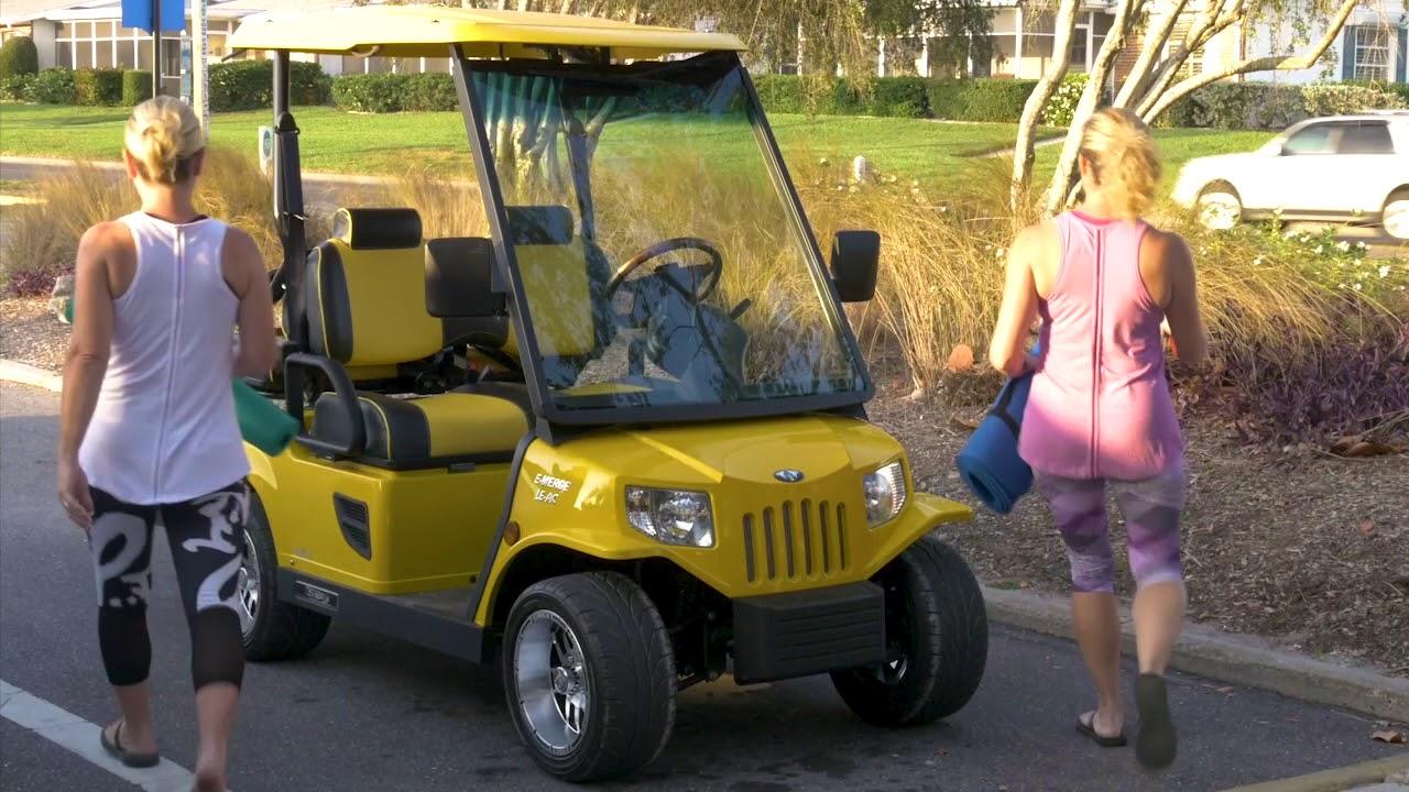 Custom Golf Carts - Thoroughbred Golf Carts
