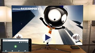 Stickman Base Jumper 2 on Shield Android TV