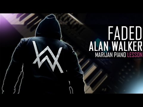 alan walker faded piano sheet pdf