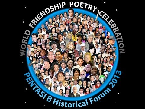 PENTASI B World Friendship Poetry Celebration 2013  (HD video)