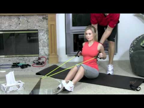 RESISTANCE BAND SEATED ROWS