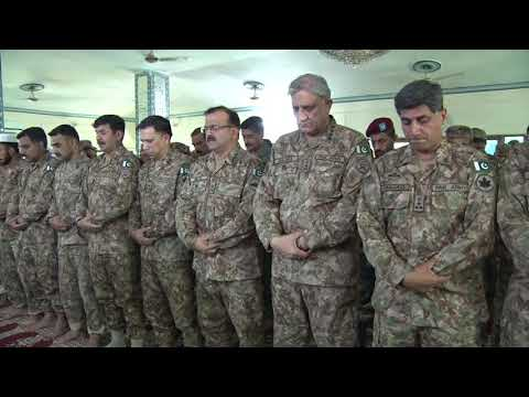 Press Release No 149/2019, COAS visited LOC - 12 Aug 2019 (ISPR Official Video)