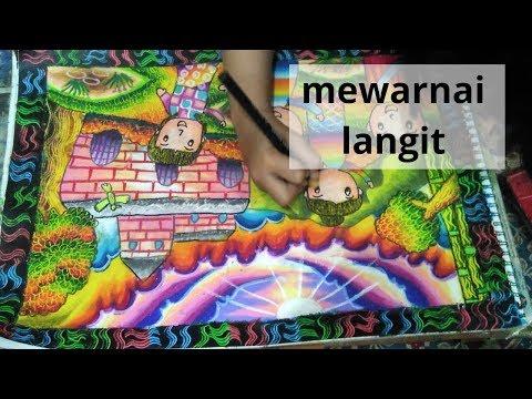 Full Download Cara Mewarnai Baju Teknik Gradasi Dengan Crayon