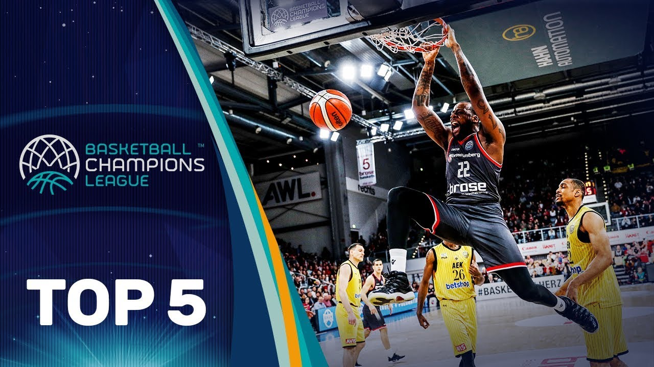 Top 5 Plays - Quarter-Finals - Gameday 1 - Basketball Champions League 2018