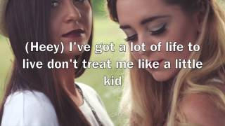 Megan and Liz - New At This (Lyrics)