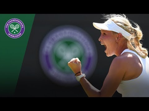 Wimbledon 2018 | Donna Vekic vs Sloane Stephens Highlights