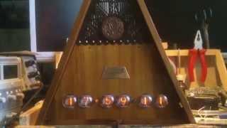 Часы с кукушкой на ГРИ NIXIE Clock