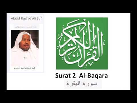 Surat 2  Al Baqara ---Sheikh Abdul-Rashid  Ali  Sufi