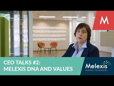 CEO Talks #2: Melexis DNA and Values