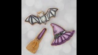 How to Decorate Vintage Halloween Cookies 🍬🦇💀
