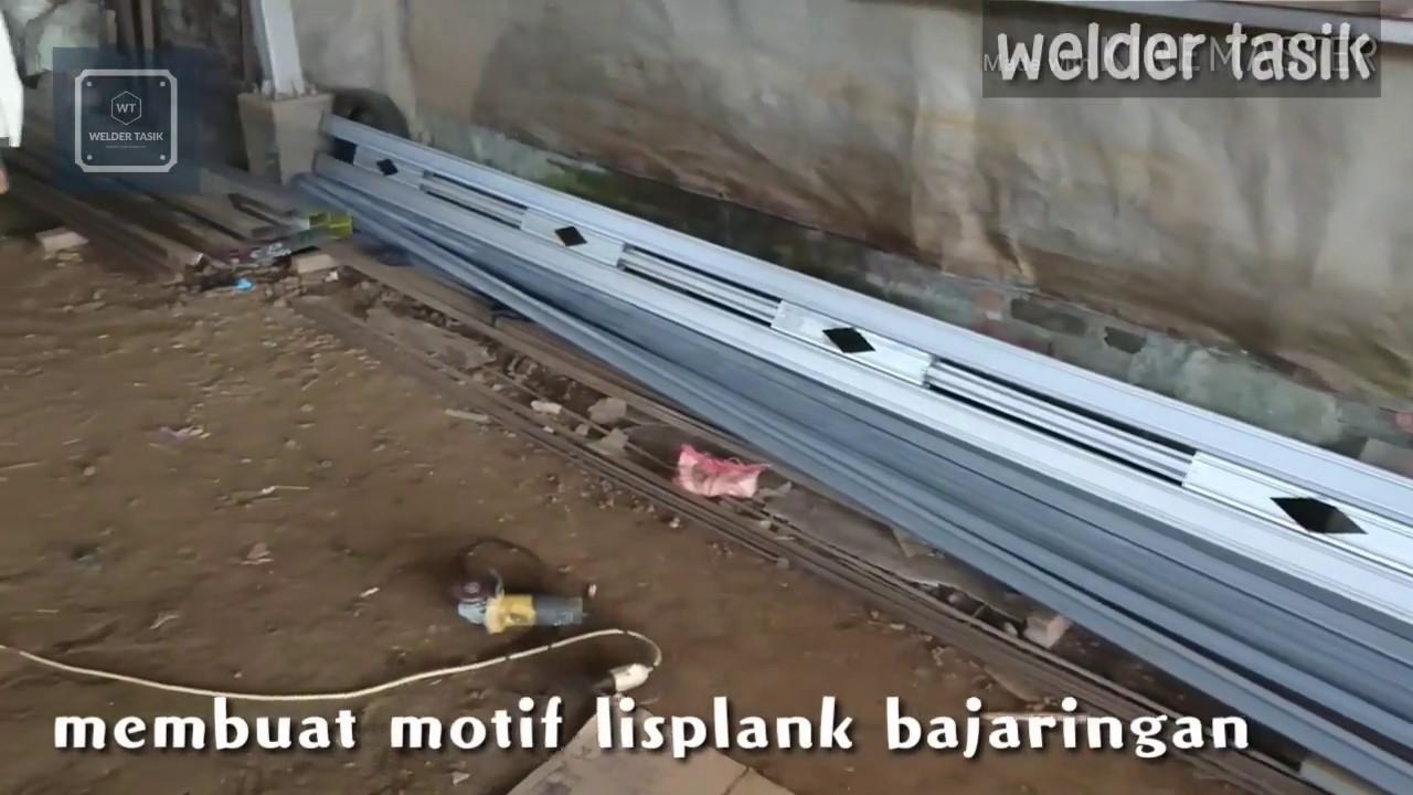 Lisplang Kanopi Baja Ringan 2019 Cara Membuat Lisplank Canopy Bajaringan Sederhana Youtube