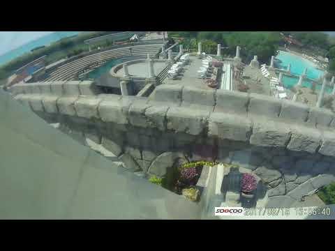 Die Highspeedrutsche im Xanadu Resort