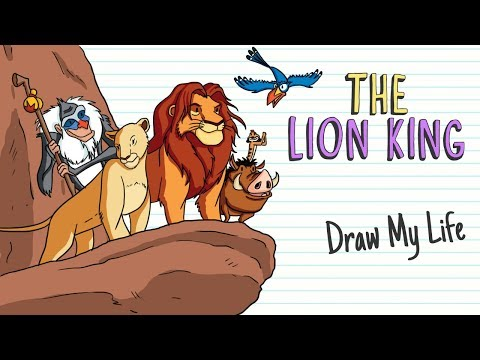 THE LION KING | Draw My Life