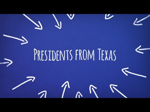Presidents from Texas