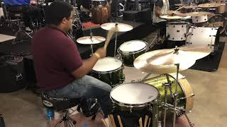 DOH drum meet 2019 solo 15