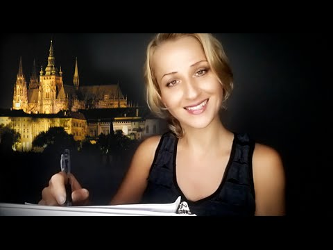 ASMR Psychological Test: Drawing & Writing | Page Turning |