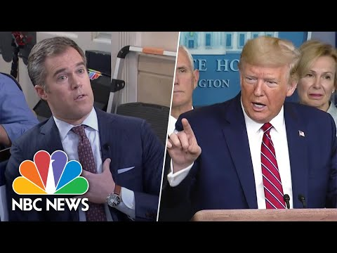 Trump Completely Loses It on NBC's Peter Alexander, Who Says, I ...