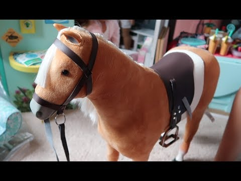 *Review* American Girl Palomino Horse!