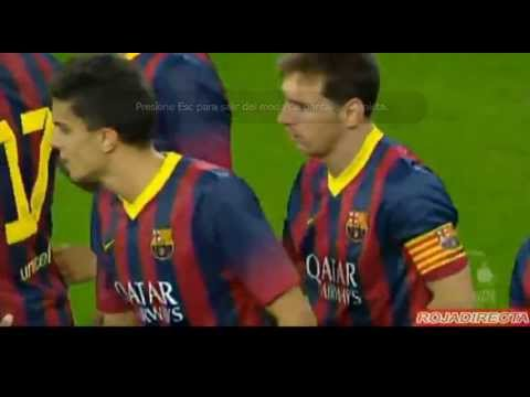 Gol Messi  Lechia Gdansk 2 vs FC Barcelona 2  Neymar debut amistoso Friendly Match 07.30.2013 Videos De Viajes