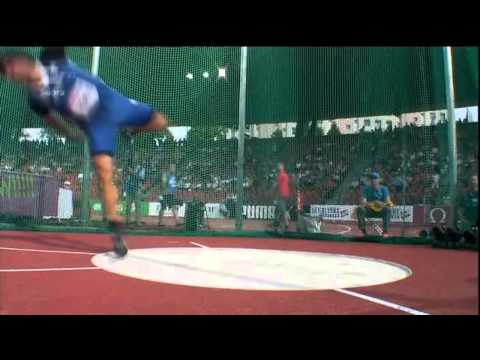 Men´s Discus Throw Qualification European Championships Züri