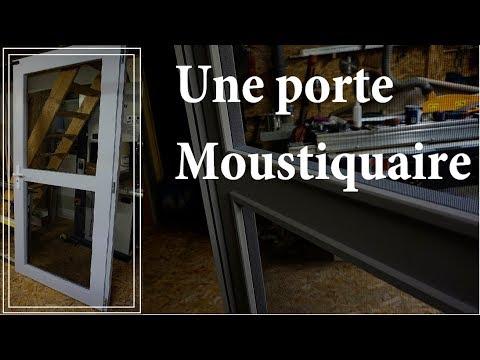 Fabrication Dune Porte Moustiquaire